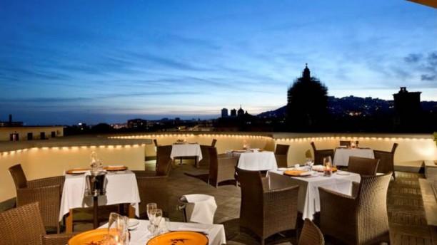 Vesuvio Roof Bar And Restaurant In Naples Restaurant