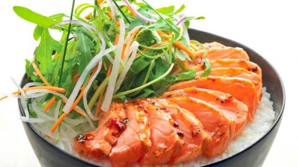 Sushi Shop Donburi Saumon
