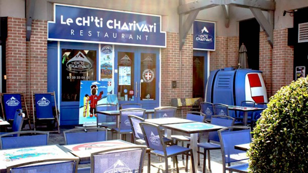 Ch'ti Charivari Terrasse du restaurant