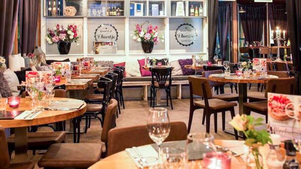 Grand Café 't heertje Het restaurant