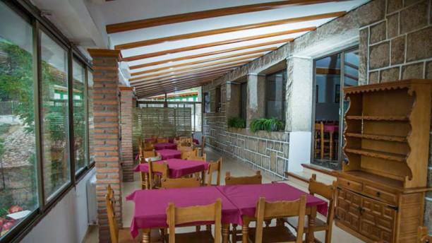 Hostal Restaurante el Tranco 608 vista de la sala