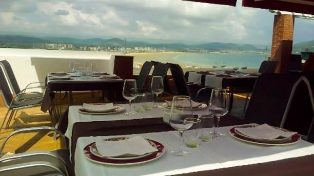 Risco Cantabria Experience Terraza del Restaurante