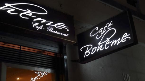 Café Boheme Entrada