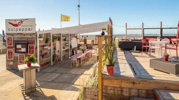 Beachclub Culpepper terras