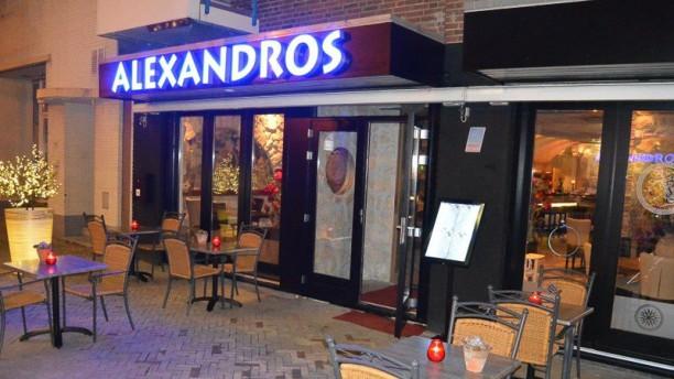 Taverne Alexandros Ingang