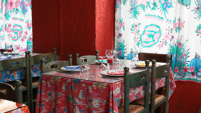Tables dressées - Les Filaos, Lyon