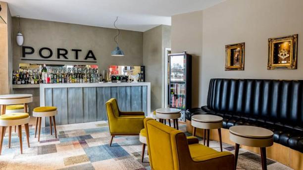 PORTA Restaurante Vista do interior
