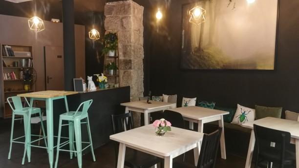 The Green Little Fox Salle du restaurant