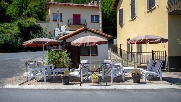 Café Restaurant de la Mine Terrasse