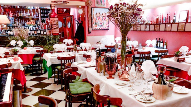 Ristorante Toscano sala do restaurante