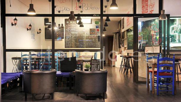 Jou's Food Experience vista terraza
