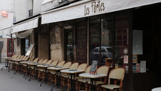 Les Portes Bienvenue au restaurant Les Portes