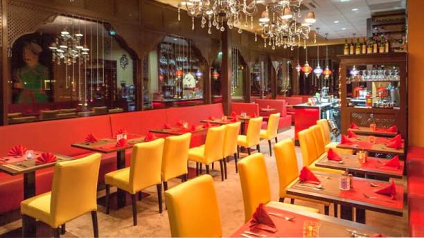 TAJ Taste Of India restaurantzaal