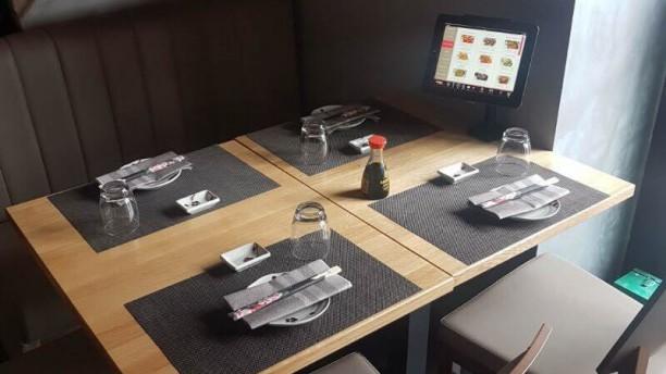 Chihana Sushi Restaurant Vista sala