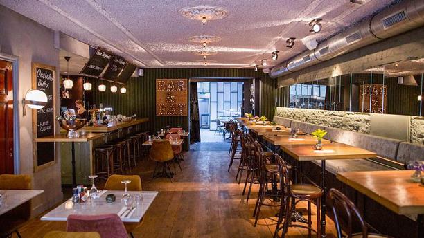 Hendriks Fish & Drinks Het restaurant