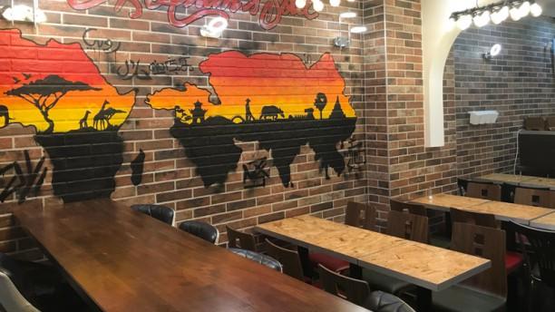 Afrik Asian Soul Salle du restaurant