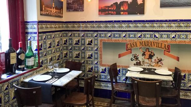 Restaurante casa maravillas en madrid parque del retiro - Casa arabe madrid restaurante ...