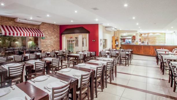 Babbo Gourmet Pizzaria & Restaurante Vista da sala