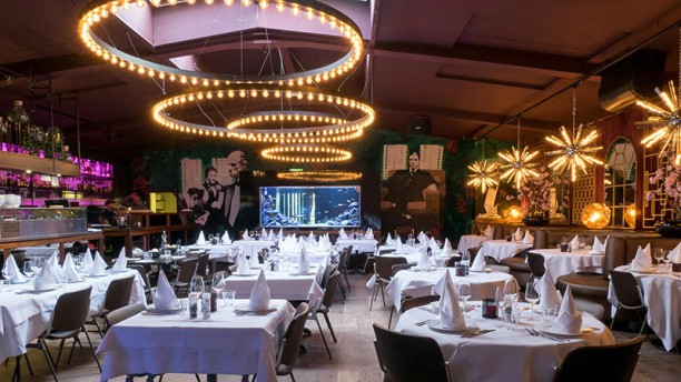 Cinema Paradiso Het restaurant