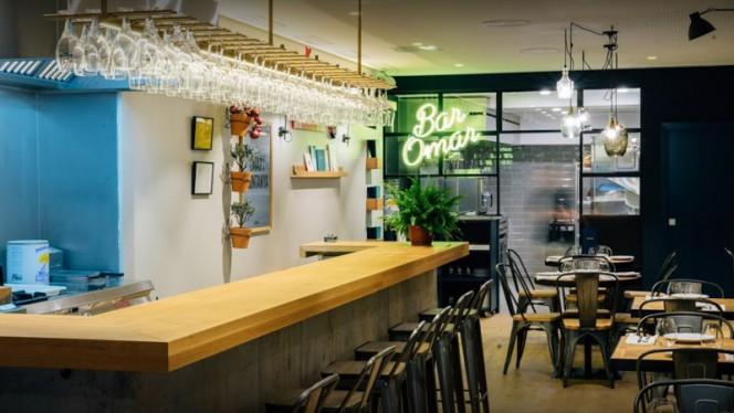 Vista Sala - Bar Omar, Barcelona