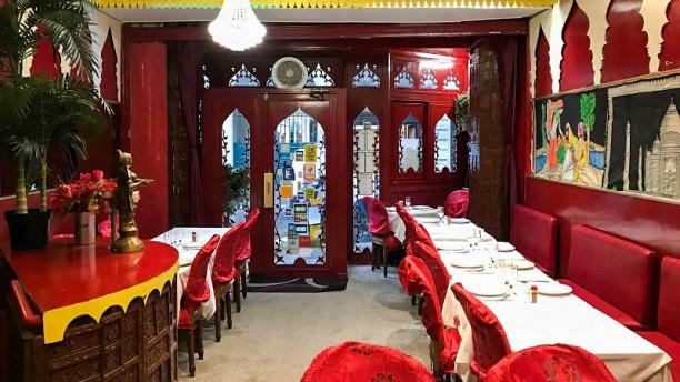 Mam Taj Mahal Vue de la salle