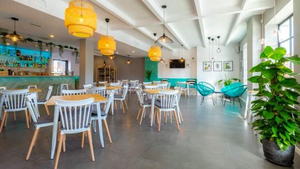 Carmela Gourmet Bar Vista del interior