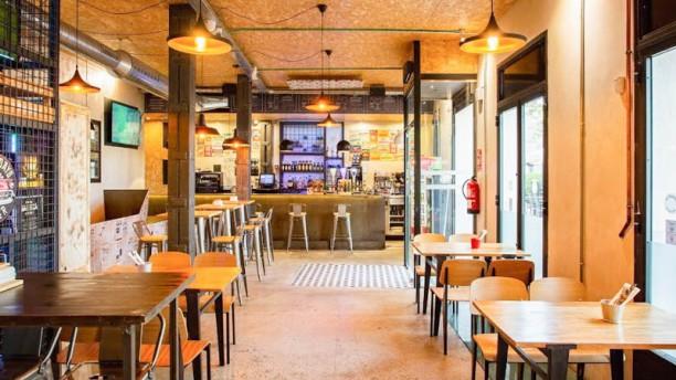 Burger 10 Vista de la sala