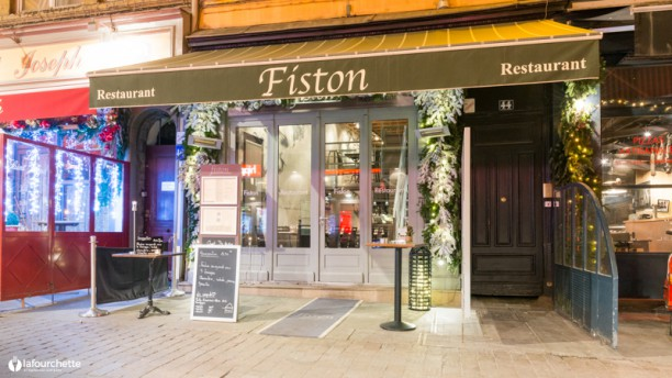 Restaurant Fiston Lyon Carte