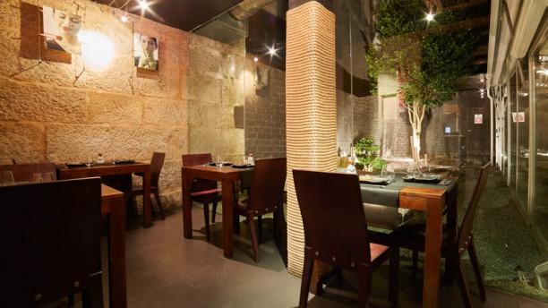 Kyoto Galicia (Vigo) Interior del restaurante