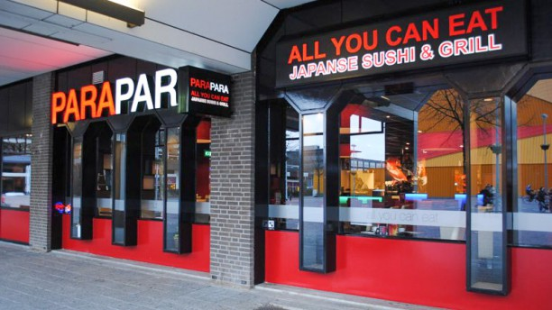 Parapara Sushi & Grill Café Ingang