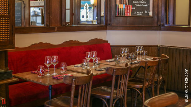 Restaurant intuition gourmande paris 75015 vaugirard for Intuition gourmande paris