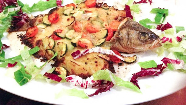 Ristorante Eden Pesce al forno co verdure