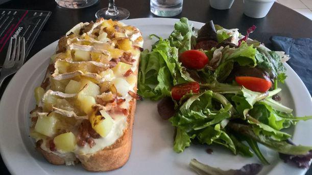 La Pizza des Cocotiers plat