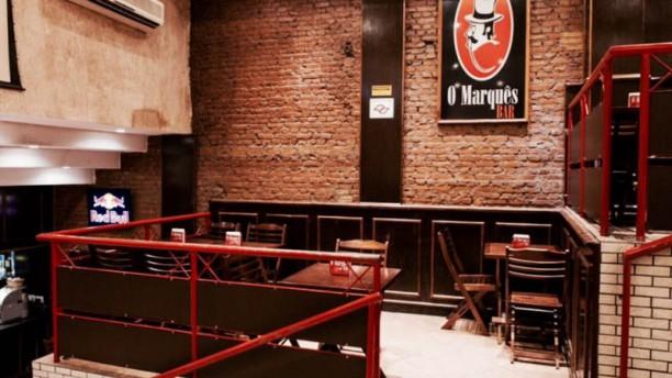 O Marquês Bar Vista da sala