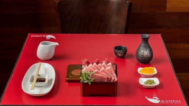 Sugestão prato - Kampai - Restaurante Japonês inspirado nos Açores, Lisboa