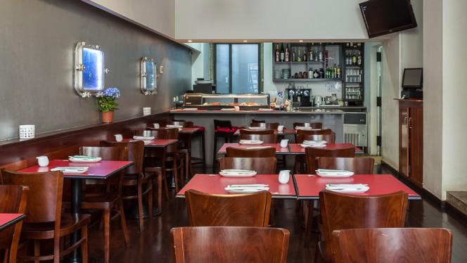Vista da sala - Kampai - Restaurante Japonês inspirado nos Açores, Lisboa