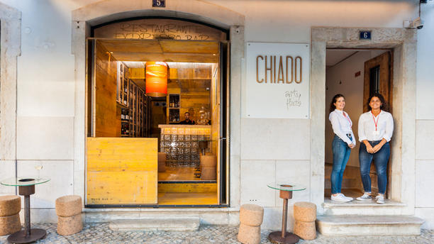Chiado Wine Bar Entrance