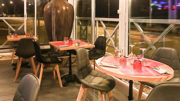 Le Donjon Gourmand Terrasse