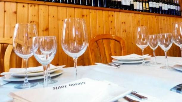 Mesón Javis Detalle de la mesa