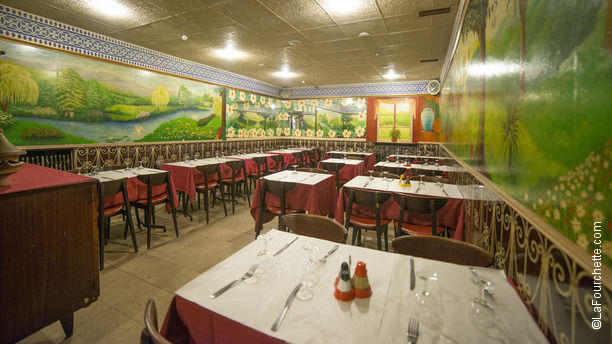 Le Bienvenu Salle du restaurant