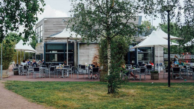 Terras - Griftpark 1, Utrecht