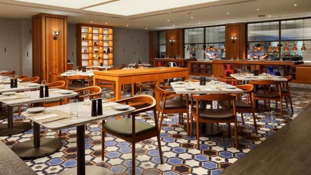 James St Bar & Kitchen seating
