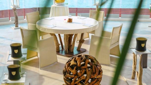 Els Brancs - Hotel Vistabella Terrraza del restaurante