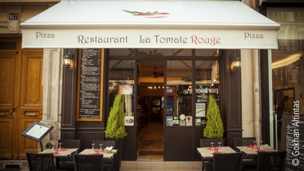 La Tomate Italienne L'entrée du restaurant