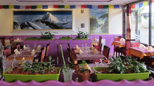 La Maison d'Himalaya Vue de la salle