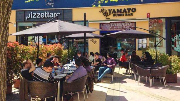Yamato Sushi Bar Vista terraza