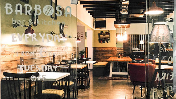 Barbosa Bar&Kitchen Entrada