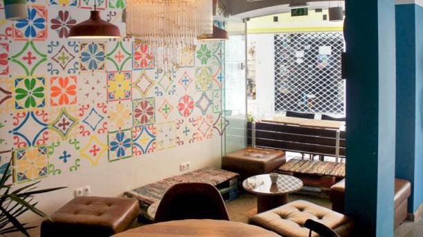 Barbosa Bar&Kitchen Vista da sala