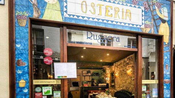 Osteria Ruggera Bienvenue au restaurant Osteria Ruggera