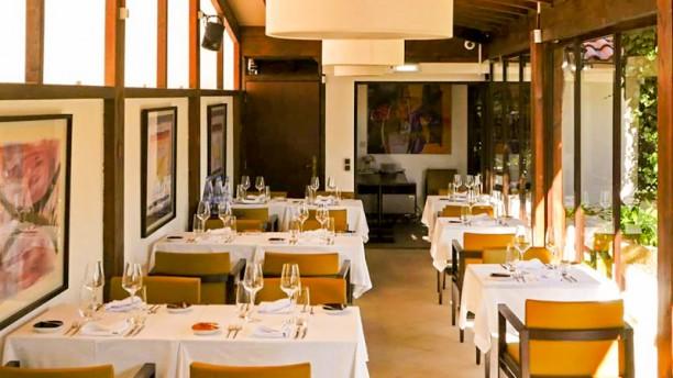 Restaurante Quinta Santo António Vista do interior